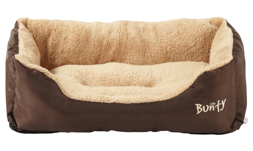Brown Chocolate Large Dog Bed