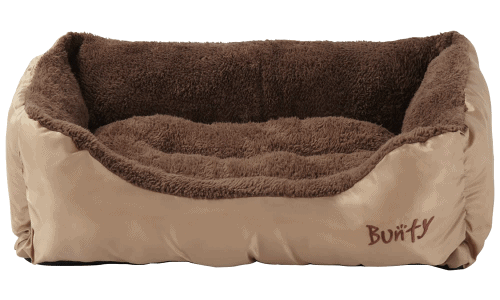 Cream Choco Large Dog Bed