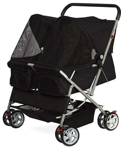 OxGord Pet Twin Double Dog Stroller