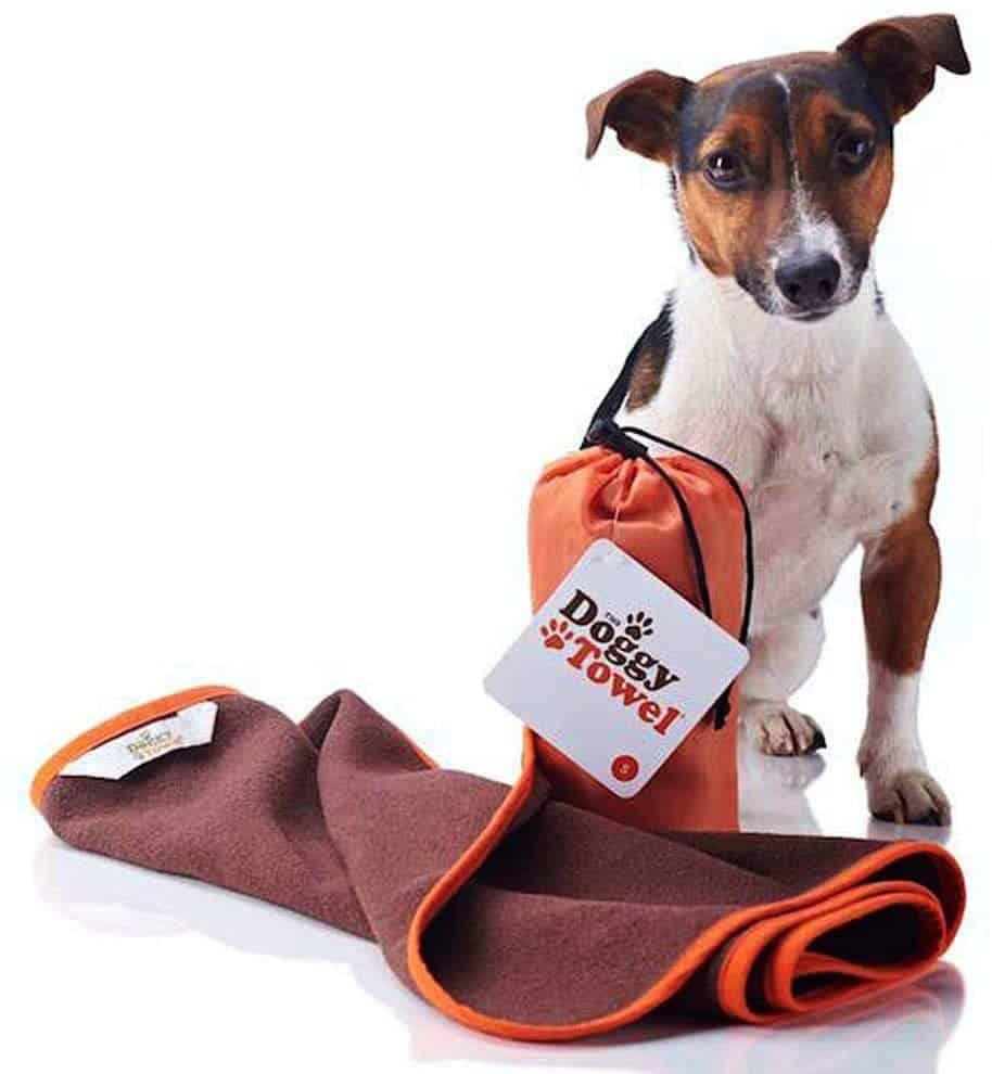 dog towel bag