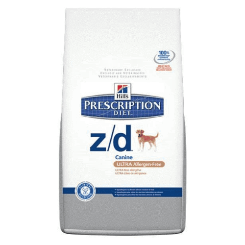 hill's dog food zd allergen free prescription diet