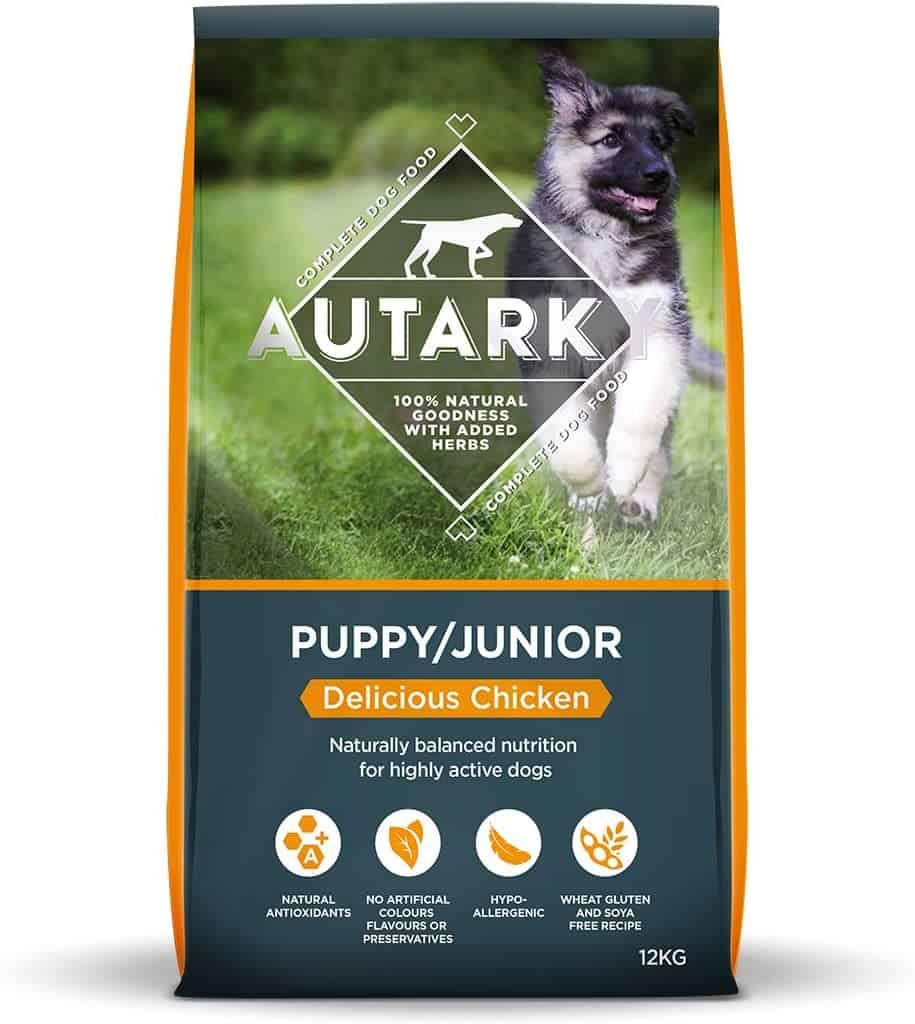 autark dry puppy food