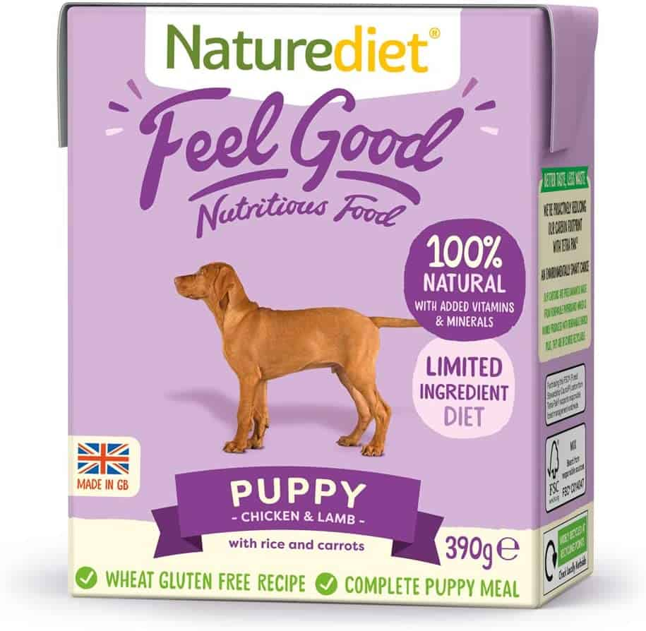 naturediet wet puppy food uk