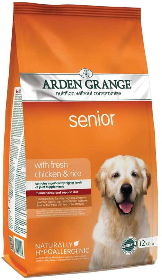 top senior dog food in uk