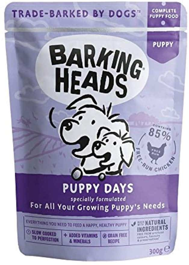 top wet puppy food uk