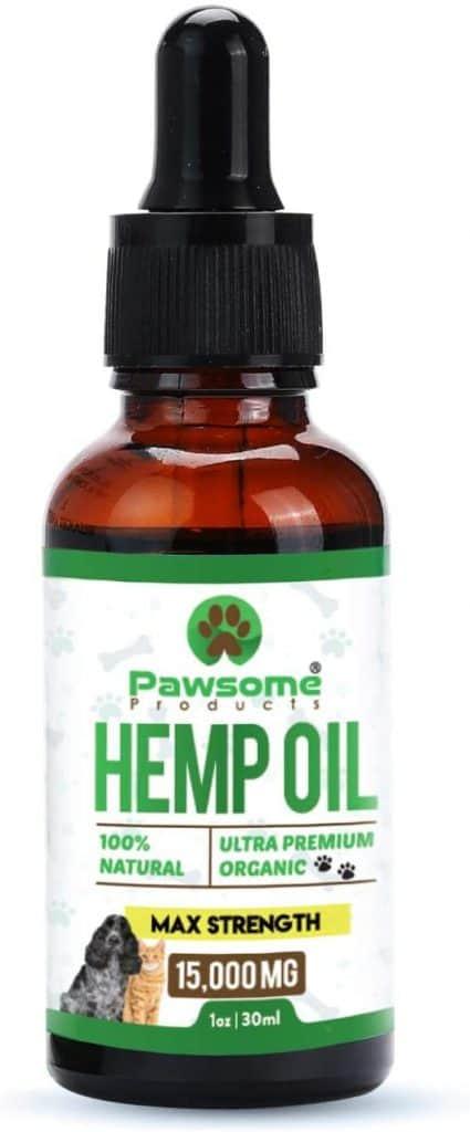 top hemp oil for a dog